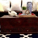 Refinished Trunk Coffee Table