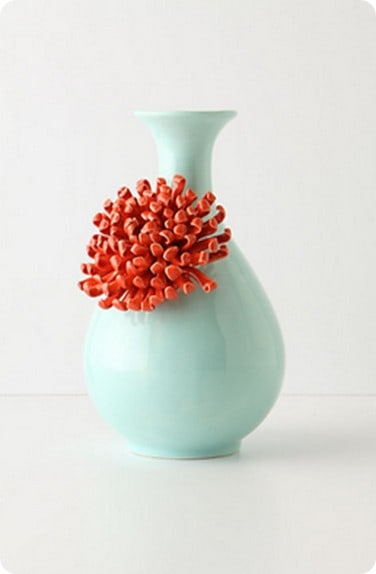 Curvy Chrysnthemum Vase