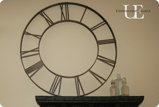 DIY-Pottery-Barn-Inspired-Clock-Face