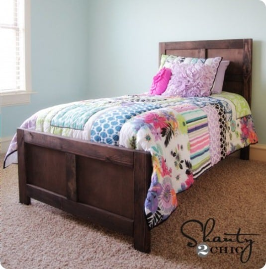 diy kids bed inspired by pottery barn kids
