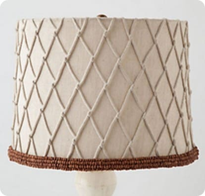 latticework lampshade