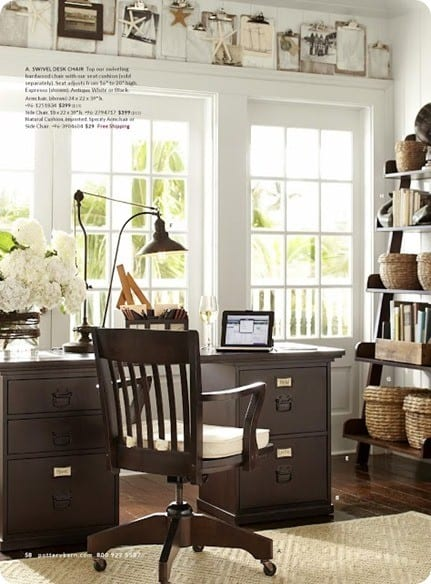 pb catalog office with clipboards