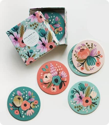 Botanical Coaster Set