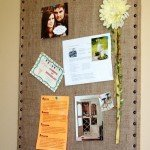 Burlap Message Board