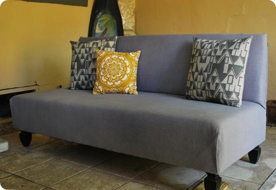 DIY outdoor sofa inspired by West Elm
