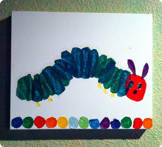 PBK inspired artwork The Very Hungry Caterpillar