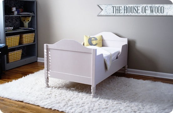RH Baby & Child inspired toddler bed