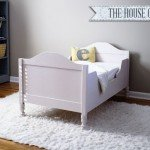 Cottage Style Toddler Bed