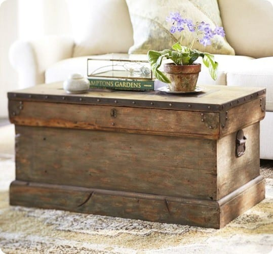 Trunk coffee table - Trunk style coffee tables ...
