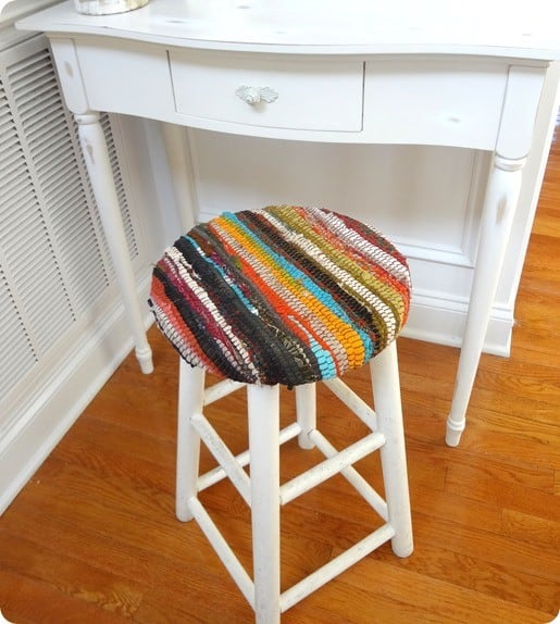 Recycled Fabric Stool Madeinaday