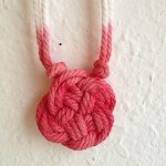 dip dyed knot necklace inspired by anthropologie 2