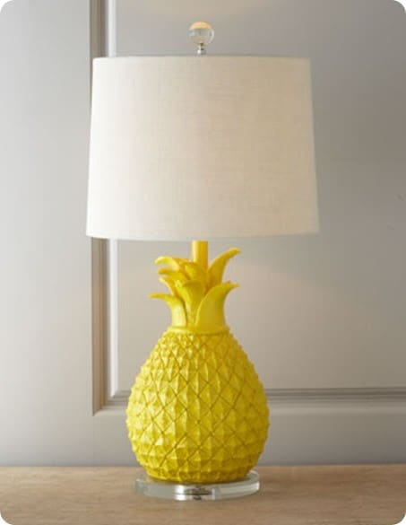 horchow pineapple table lamp