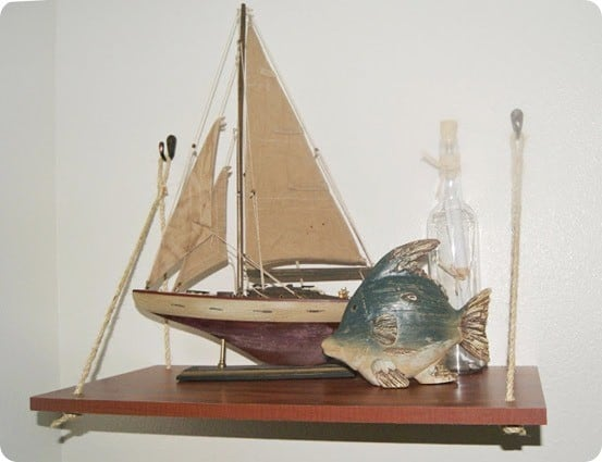 nautical swing shelf