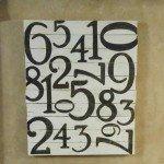 Pallet Number Art