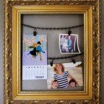 pottery barn inspired clip frame