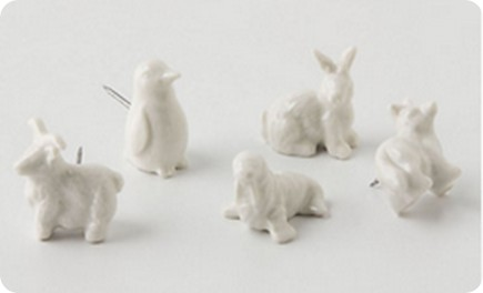 arctic animal pushpins