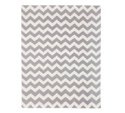 chevron wool rug