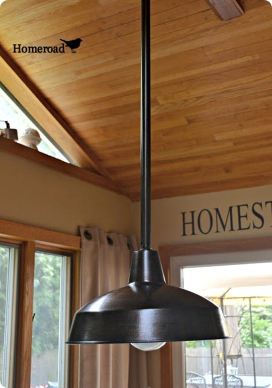 Make Your Own Farmhouse Light For Less Knockoffdecor Com