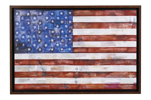foundation american flag art