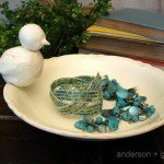 From Chipped to Treasured {Decorative Jewelry Dish}