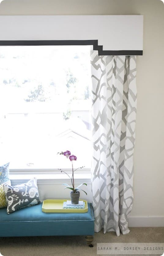 Pretty Painted Pattern Curtains Knockoffdecor Com