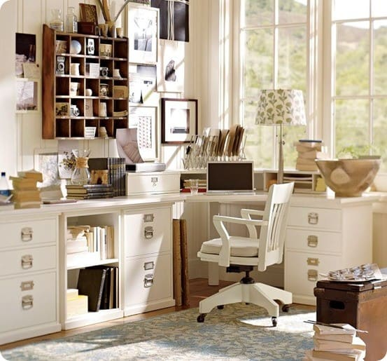 Goodwill File Cabinets To DIY Desk
