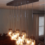Best of PB #7: Made-from-Scratch Mason Jar Chandelier
