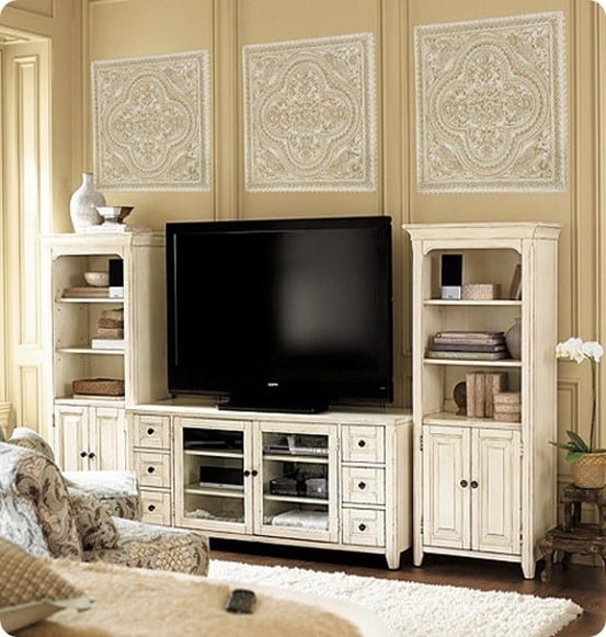 Wesley 60 inch Console with 2 Towers
