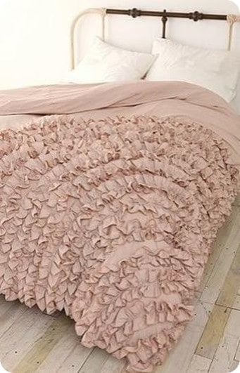 Drop Cloth Ruffle Duvet Cover