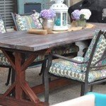 Build Your Own Trestle Farmhouse Table