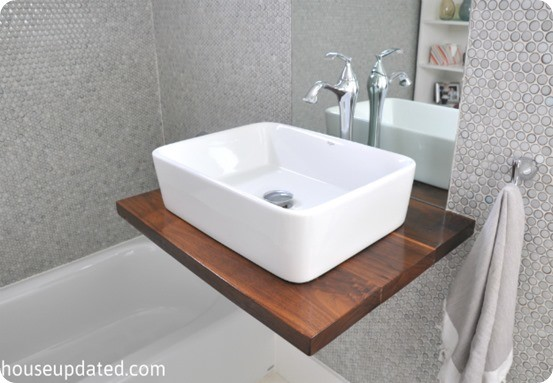 Brit was inspired by this trough sink she saw on HGTV's Rate My ...