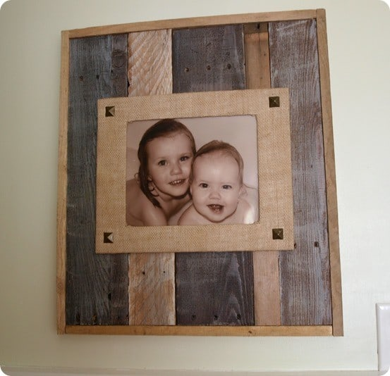 frame from pallet