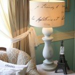 Lamp Makeover a la Pottery Barn