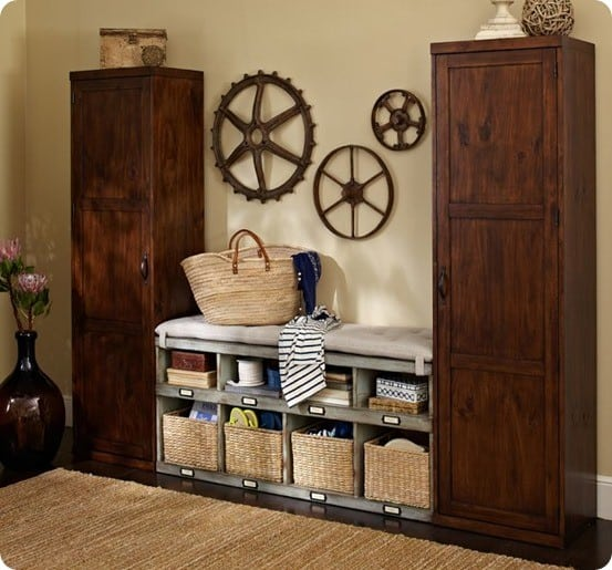 Built In Mudroom Lockers And Bench Knockoffdecor Com