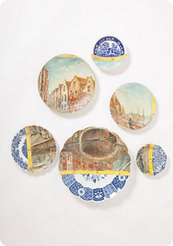 Oude Brug Plate Collage