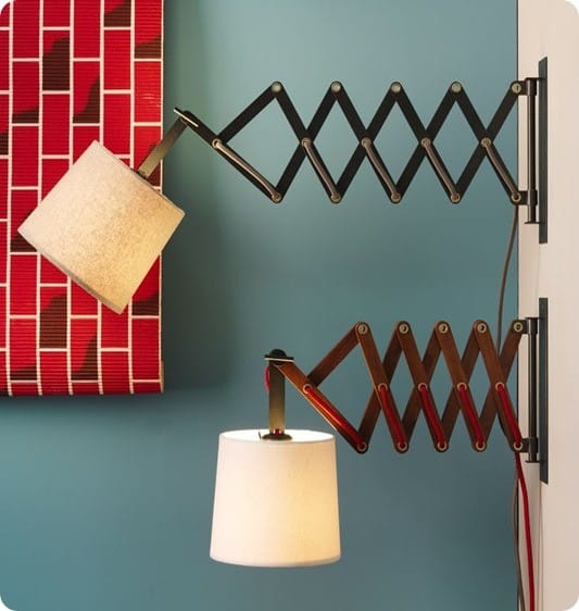 accordion sconce from west elm