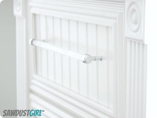diy acrylic drawer pulls