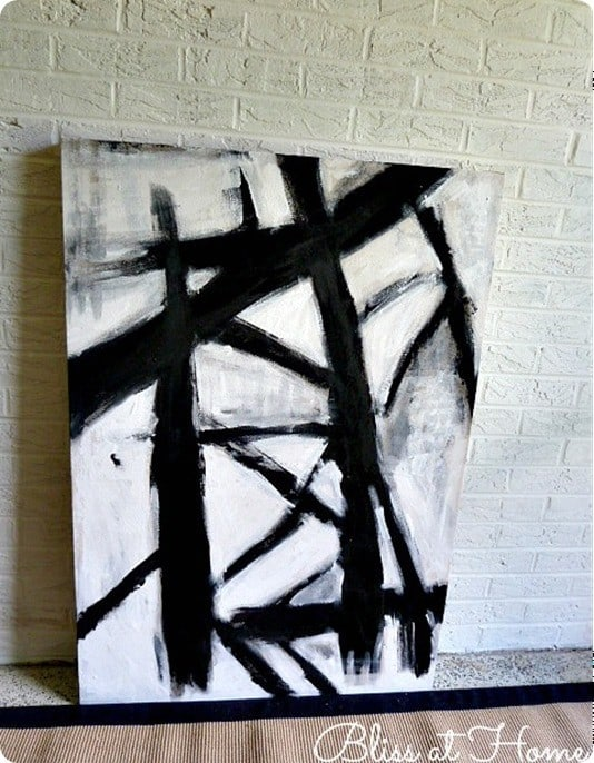 Black And White Abstract Art Even Your Kids Can Paint