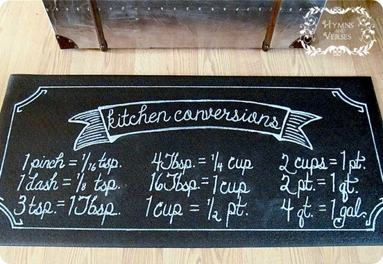 kitchen conversions floor mat
