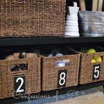 Super Cheap Numbered Baskets
