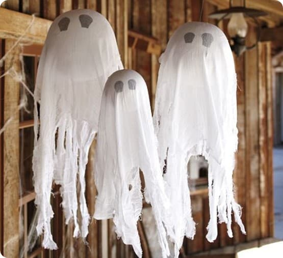 pottery barn kids hanging ghosts
