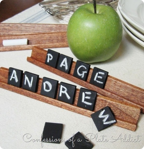 scrabble game repurpose