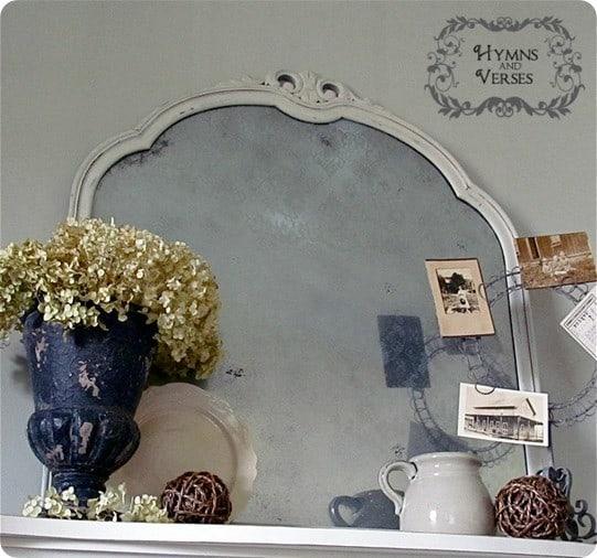 Vintage Lace Mirror