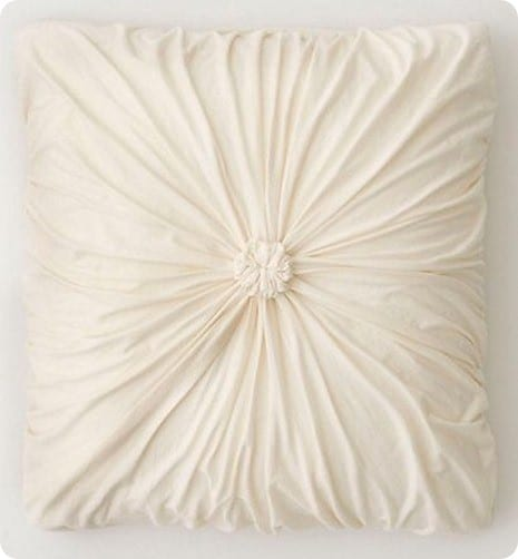 anthropologie rosette euro sham
