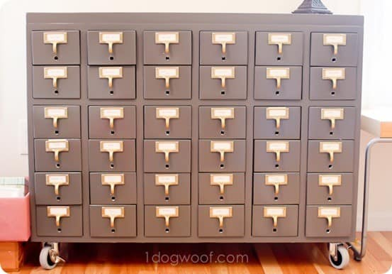 card catalog storage
