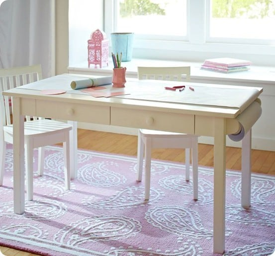 Diy Wall Craft Table For Kids