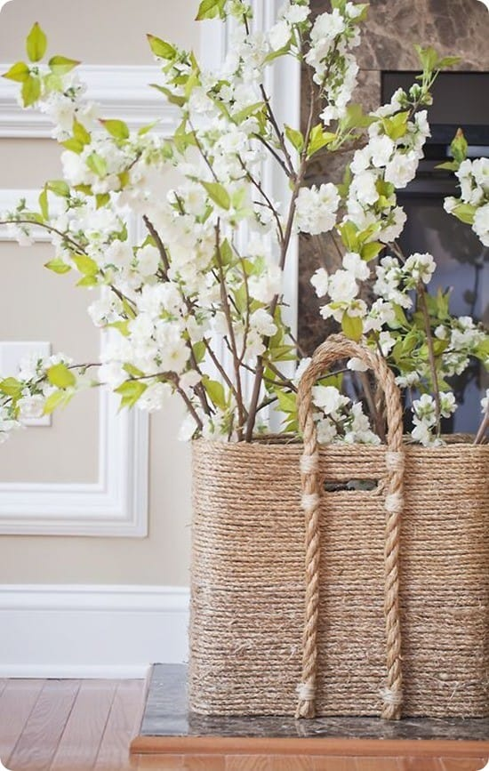 diy beachcomber basket