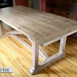 """Rustic Yet Refined"" X Dining Room Table"