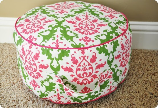 diy floor cushion 2