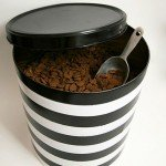 Popcorn Tin to Pet Food Canister